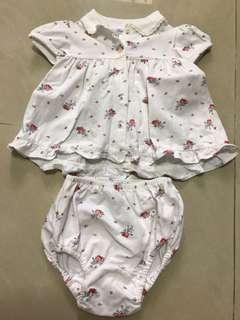 Ralph Lauren little flowers dress set