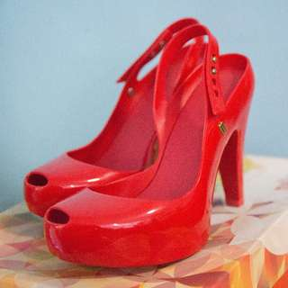 Ultra Girl Heels Red by Melissa