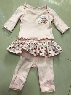 GUESS baby ballerina pants set