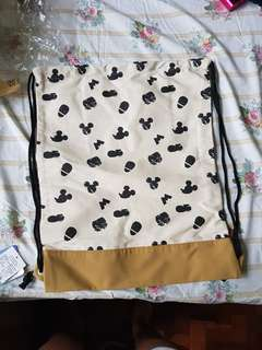 NET mickey mouse adjustable draw string bag