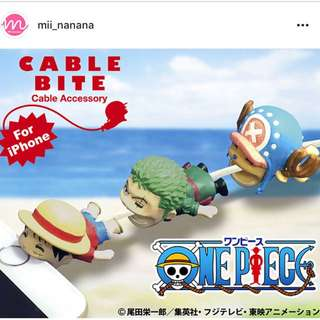 ONE PIECE iPhone用 Cable bite $75/1