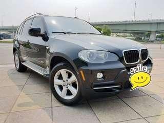 【廠牌】: BMW 寶馬 【型式】: X5 黑色黑內裝 【年份】:2008年 【排氣量】:3.0L 【檔位】:手自排  【售價】:68萬8 【地區】: 士林 【車況】: 全景大天窗 前置音響DVF大螢幕介面 BMW原廠保養 引擎無滲油 車況超優 歡迎試乘 實跑141000km 📲Line:King09091988     有興趣歡迎 Fb私訊 Jin Ming