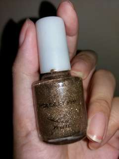 Brown Nail Color Holograph