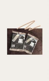 Black Cotton Sticks 40pcs/pack