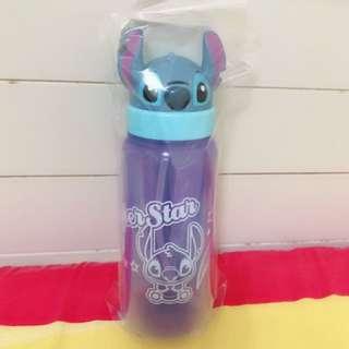 ✨全新✨ 迪士尼 史迪奇 藍色翻蓋水壺 500ml