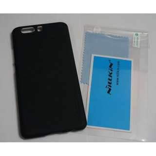 Nillkin Frosted Shield Hard Case for Huawei P10 Plus (Black)