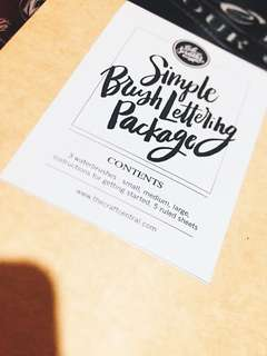 Simple Calligraphy Kit