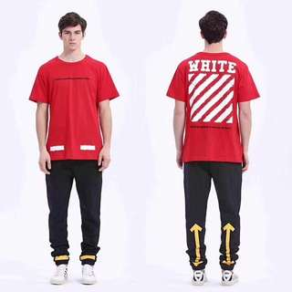Off white tee in 3 colors