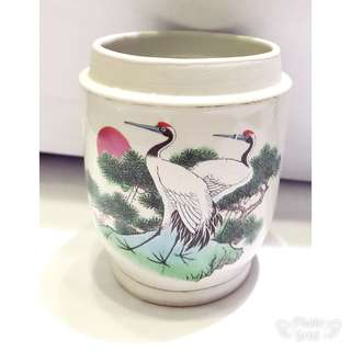 Porcelain Cup and Candle Holder