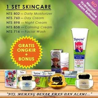 Krim Pemutih Wajah Whitening Cream Pelembab Wajah Foundation Paket Perawatan Wajah Skincare Murah Skincare Impor