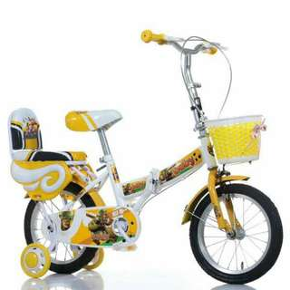 Foldable size 12/$90  /kids bicycle