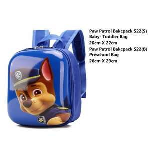 Preorder: Paw Patrol Backpack/ Paw Patrol Bag