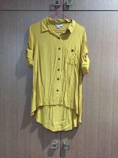 Cotton on mustard polo