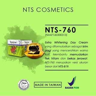 Krim Pemutih Wajah Whitening Cream Krim Pagi NTS NewTopsyne 760