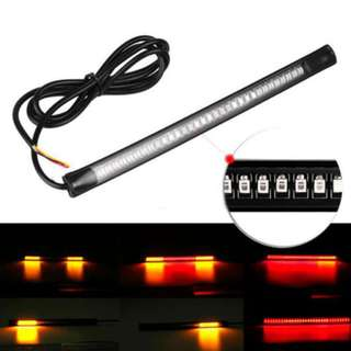 20CM Motorcycle Car Flexible Signal & Brake Waterproof Strip Led