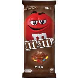 M&M's Milk Chocolate Block 160g
