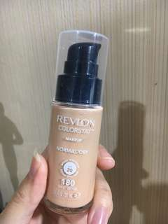 NEW Revlon colorstay foundation shade 180