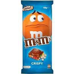 M&M's Crispy Chocolate Block 160g