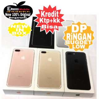 Kredit Low Dp IPhone Apple 7 Plus 128GB(REP)-Ditoko Promo Ktp+kk bisa wa;081905288895