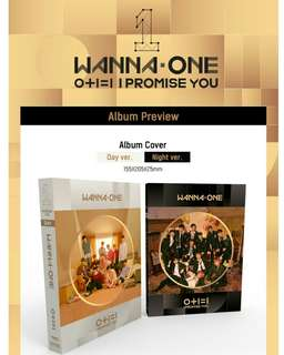 Onhand soon I PROMISE YOU WANNA ONE ALBUM