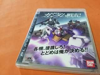 PlayStation 機動戰士  戰記   GAME IN JAPAN 日版