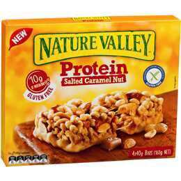 Salted Caramel Protein Nut bars 160g