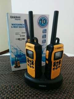 Uniden Waterproof 2-Way Radio