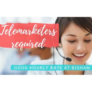Female Telemarketers required at Bishan!