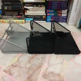 MOVING OUT SALE [Metal Book Stand with Divider]