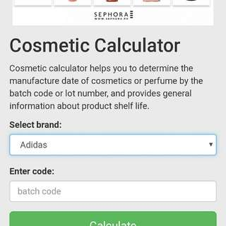 Check your Makeup Expiration Here