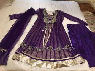Punjabi Suit salwark suit Indian dress XL BRAND NEW