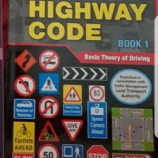 BTT Books/ driving theory test/highway code