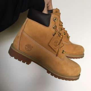 Timberlands Tan