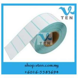 Barcode Label Sticker Paper 20x10mm For Barcode Printer