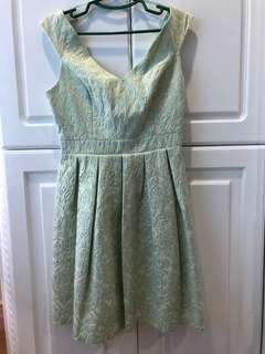 FORMAL - LIGHT GREEN DRESS
