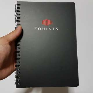 Equinix Lined Notebook