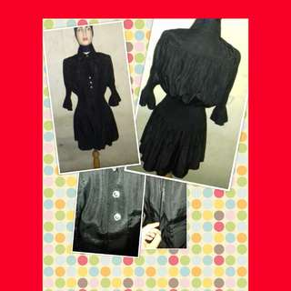 Peplum black