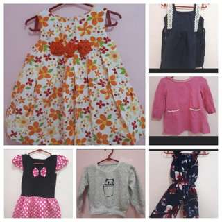 Baby dress bundle take all