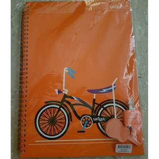 Smiggle Notebook with Erasers