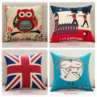 Assorted cushion covers instock