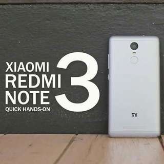 For sale 2nd hand phone Xiaomi redmi note 3 pro