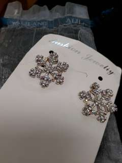 Snow flake Earring