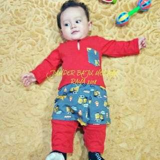BN Baju Melayu Romper