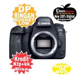 Kredit Low Dp Canon EOS 6D Mark II Body Resmi ditoko Promo ktp+kk wa;081905288895