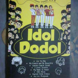 Novel KPop Momo Yonas - Idol Dodol