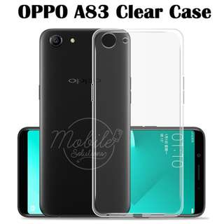 OPPO A83 Clear / Transparent TPU Case (Anti Water Marks)