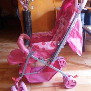 Stroller & Baby swing take all