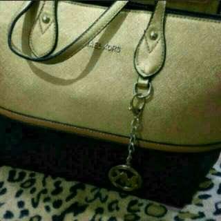 MK Gold Handbag