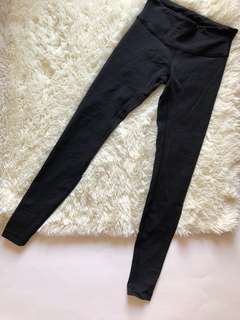 Lululemon workout yoga gym pants 黑色legging