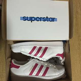 AUTHENTIC ADIDAS SUPERSTAR FOUNDATION J PINK